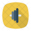 Barbell Plates Weight Icon