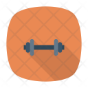 Barbell Dumbbell Weight Icon