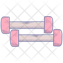 Barbell Dumbbells Fitness Icon