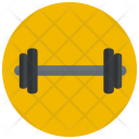 Barbell Weight Lifting Icon