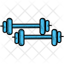 Barbell Dumbbells Sports Icon