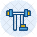 Barbell Bench Icon
