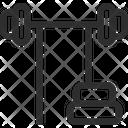 Barbell Machine Icon