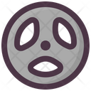 Barbell Plate Fitness Icon