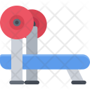 Barbell press Icon