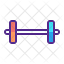 Barbells Fitness Gym Icon