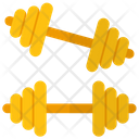 Barbells Dumbbell Gym Equipment Icon
