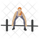 Barbells Exercise Physical Exercise Workout Icon