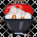 Barbeque Barbecue Fire Icon