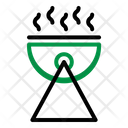Barbeque Camp Cooking Icon