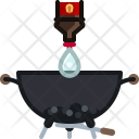 Barbeque Barbecue Briquettes Icon