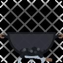 Barbeque Barbecue Briquettes Icon