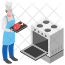 Barbeque Grill Fresh Barbeque Grill Food Icon