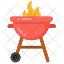 Bbq Grill Barbeque Grill Outdoor Cooking Icon
