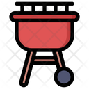 Barbeque Grill Grilled Barbecue Icon