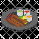 Barbeque Kebab Icon