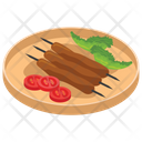 Barbeque Stick Bbq Stick Grilled Meat Icon