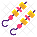 Barbeque Skewers Icon