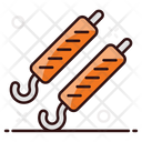 Barbeque Skewers Barbeque Sticks Bbq Stick Icon