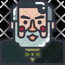 Barber Man Stylish Icon