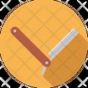 Barber Knife Razor Icon