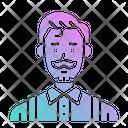 Barber Hairdresser User Icon