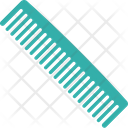 Barber Flat Comb Hair Comb Icon