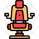 Chair Beauty Haircut Icon