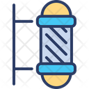 Barber Pole Shop Icon