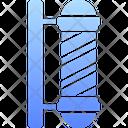 Barber Pole Door Pole Barber Icon