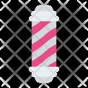 Barber Pole Shop Icon