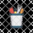 Comb Scissor Jar Icon