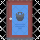 Barbershop door Icon