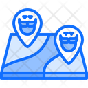 Lacation Pin Map Icon