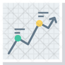 Barchart Bargraph Financialchart Icon