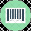 Barcode Sticker Universal Icon