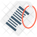 Barcode Tag Sticker Icon