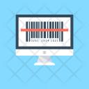 Barcode Reader Universal Icon
