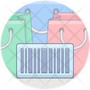 Barcode Serial Scanner Barcode Reader Icon