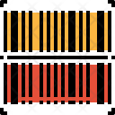 Barcode Identification Product Icon