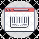 Barcode Scanning Upc Icon