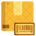 Barcode Delivery Box Barcode Box Barcode Icon
