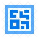 Barcode Qr Scan Icon