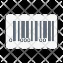 Barcode Tag Shopping Icon