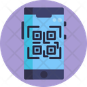 Cyber Monday Barcode Phone Icon