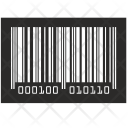 Barcode Numbers Label Icon