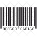 Barcode Numbers Icon