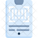 Barcode Technology Smartphone Icon