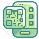 Qr Code Smartphone Icon