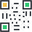 Barcode Matrix Qr Icon